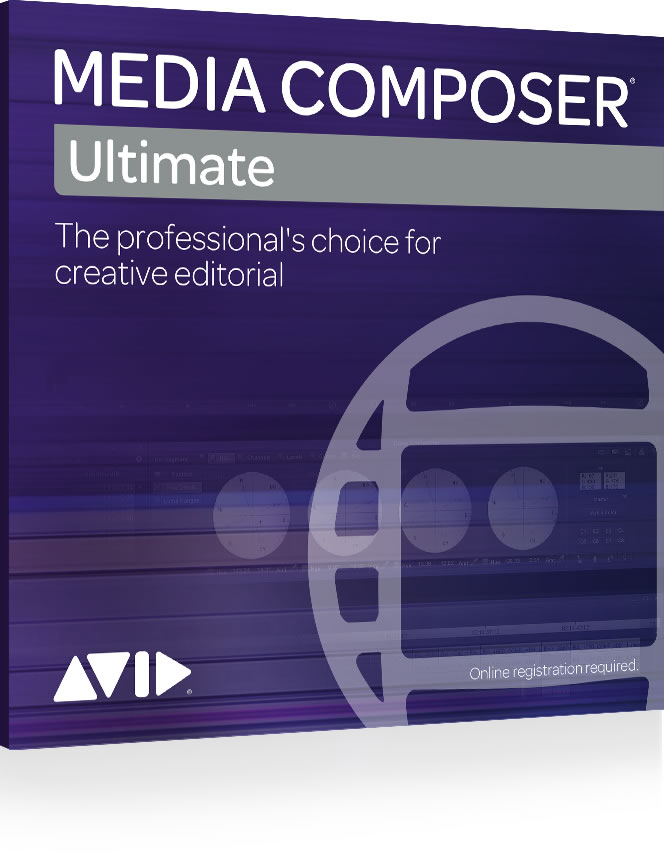 Avid Media Composer Ultimate Academic Student 1-Year Subs...
