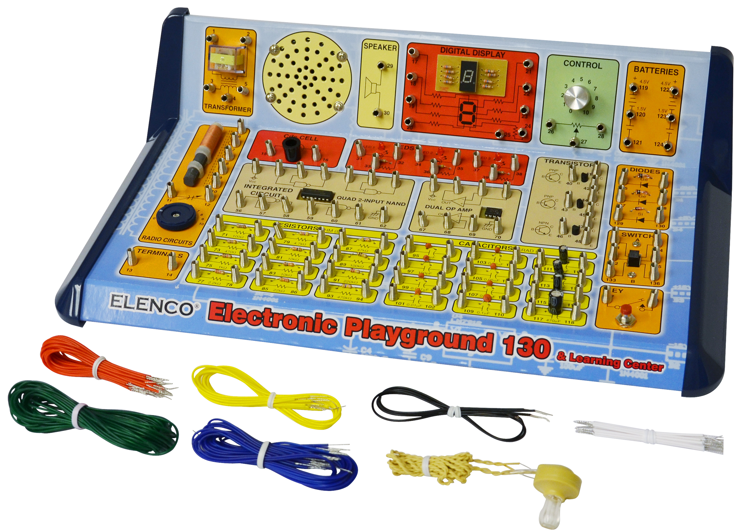 Elenco 130-in-1 Electronics Playground