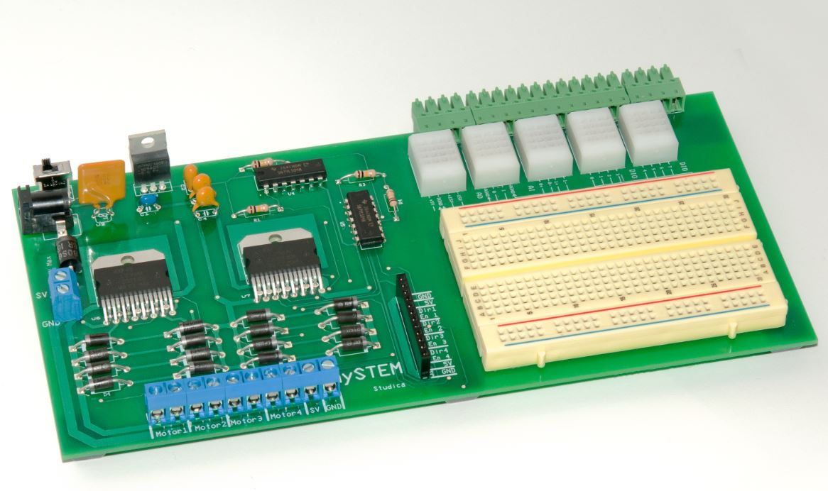 mySTEM™ Project Board for NI myDAQ 1 to 9 Units