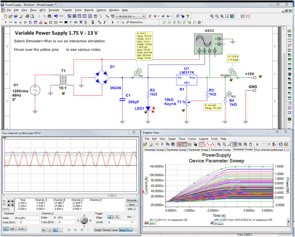 Ni Multisim Student Edition National Instruments Studica The Powerful Yet Affordable Circuit Simulation And Pcb Design Software