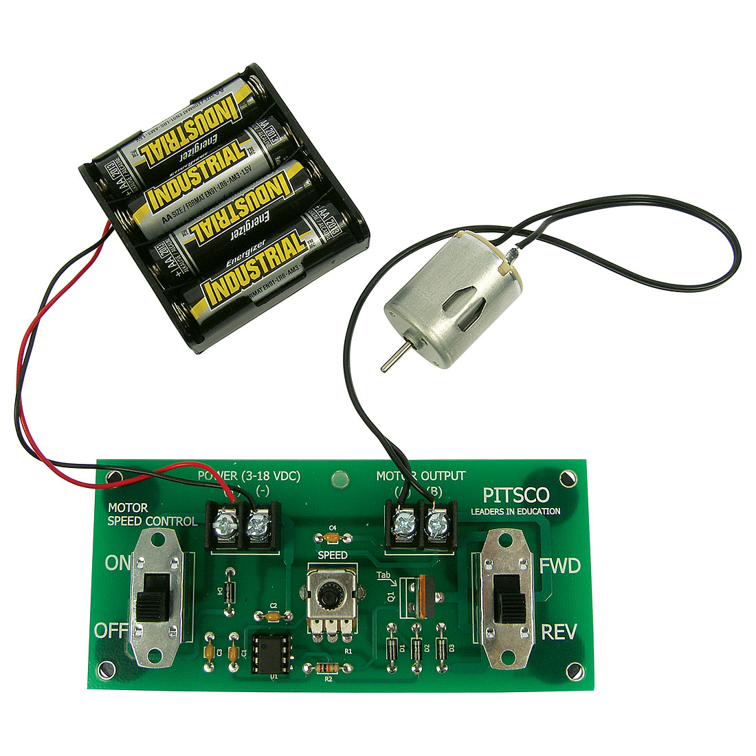Purchase Pitsco Dc Motor Controller Forward And Reverse Circuit