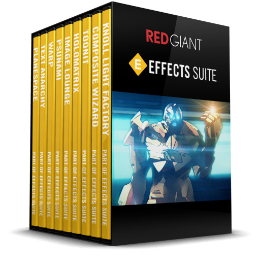 Red Giant Software Effects Suite 11