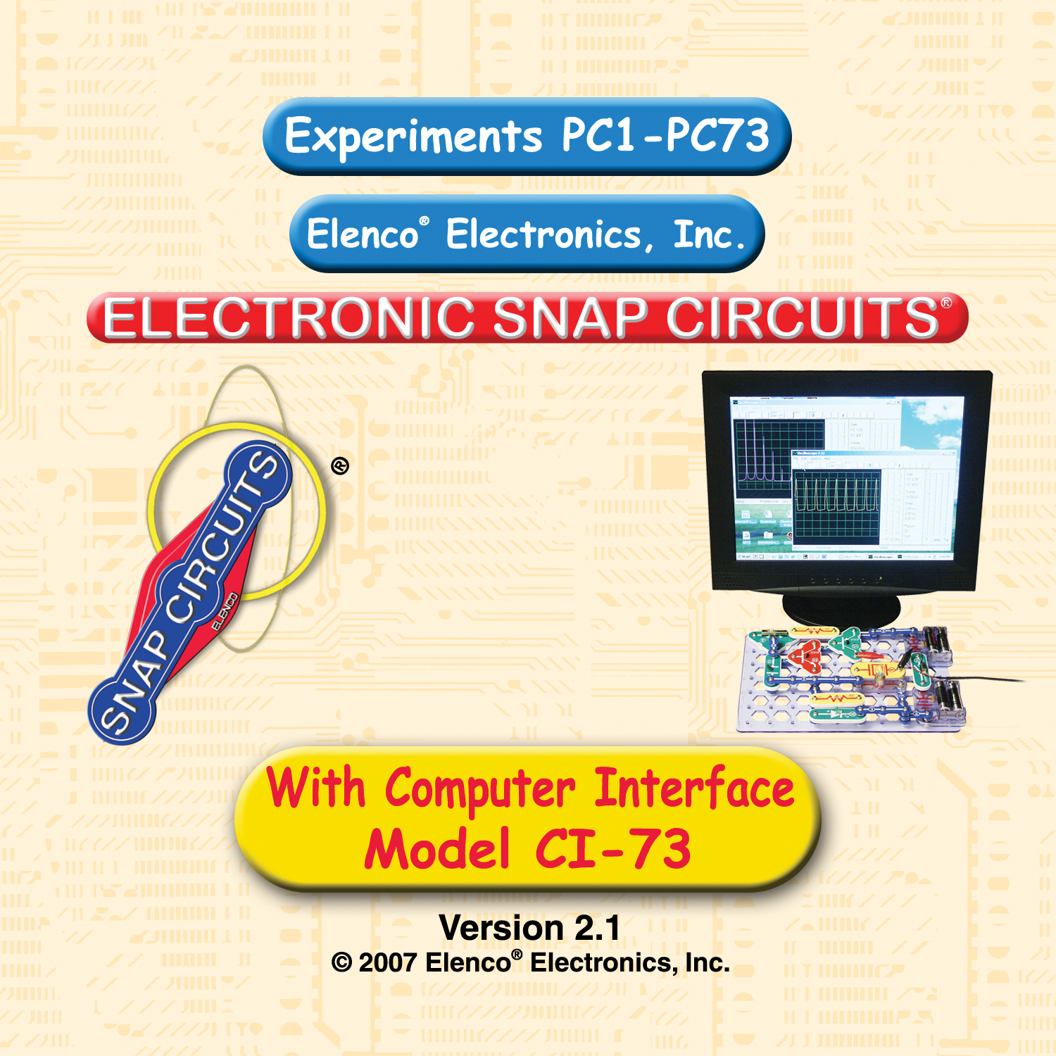Elenco Sc 300 Compare Prices At Nextag Junior Electronics Projects Kit Walmart Circuit Kits Computer Inteface For Snap Circuits